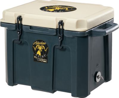 Camp and Hike Double-wall construction and Ecomate foam work with a .625-thick rubber gasket and insulated lid to chill contents for days. Molded-in hinges and brass latching system. Molded-in handles and oversized 2 drain, with 2.25 drain channel. Holds 78 12-oz. cans. Lifetime warranty. Made in USA. Ice retention: 9 days, 21 hours at 75F-80F. Dimensions: 28-1/2L x 20W x 19-3/4H. Weight: 25.75 lbs. Color: Dark Grey. Size: 60 QT. Color: Dark Grey. - $279.88
