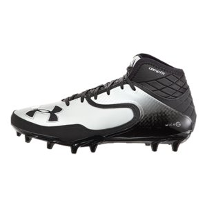Sports These cleats are made for one thing: big plays. The CompFit(R) ankle gives you a secure, locked-in feel. The light, streamlined upper is all about comfort and quick cuts. And the ultra-aggressive cleat plate lets you dig in and explode in any direction. In other words, these things can move. Ultra-supportive CompFit(R) sleeve delivers an incredible, snug feel built to give you an extra boost of speedCombination of nubuck and an engineered synthetic in upper delivers a secure, comfortable fitFoot-forming 4D Foam(R) footbed molds to foot for a locked in, comfortable, customized fitEdge molding along the mudguard stabilizes the foot for quick, confident cutsMolded TPU plate is lightweight and designed for superior traction on synthetic surfacesSecondary cleats engage for razor-sharp moves and explosive accelerationWeight: 10.3 oz.Imported - $89.99