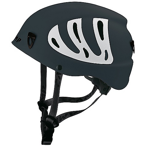 Camp and Hike On Sale. Free Shipping. Camp USA Men's Armour Helmet DECENT FEATURES of the Camp USA Men's Armour Helmet Rock Climbing, Ice Climbing, Mountaineering Hybrid construction Rotating size adjustment wheel Comfort chin strap Headlamp compatible The SPECS Construction: Hybrid Certifications: CE/UIAA Size: 54 - 60 cm / 21.5 - 23.5 in Weight: 340 g / 12.0 oz ALL CLIMBING SALES ARE FINAL. - $53.96