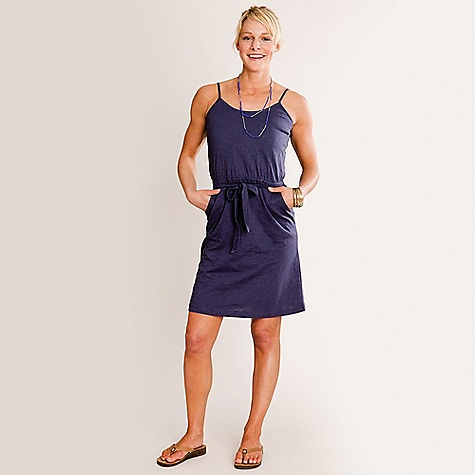 Entertainment Free Shipping. Carve Designs Women's Ella Dress DECENT FEATURES of the Carve Designs Women's Ella Dress The quintessential sun dress Spaghetti string straps Elastic around high waist A- line through body for a flattering fit Hits above the knee The SPECS Made of Organic Cotton Slub fabric - $67.95