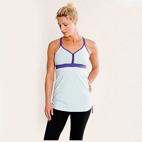 Fitness Carve Designs Women's Clio Tank DECENT FEATURES of the Carve Designs Women's Clio Tank 28in. long Fitted through chest with relaxed body Empire waist Built-in bra by construction Adjustable drawstrings at side seams The SPECS Emmeline Fabric 9.4 oz Matte Jersey 90% Supplex / 10% Lycra - $47.95