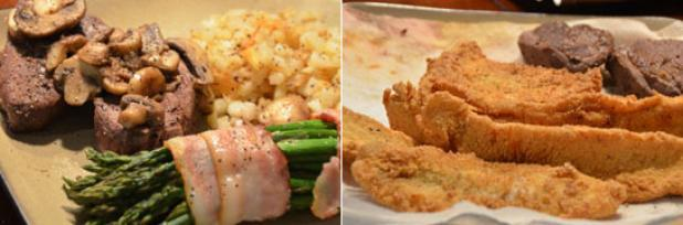 Hunting Food Fight Friday: Moose Steaks vs. Fried Perch and Pike. Vote for your favorite dish now: http://bit.ly/YID0W4
