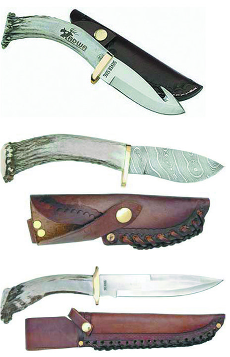 Fitness Silver Stag Custom Antler Knife ($90 - %130)