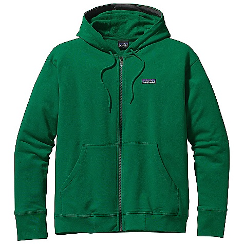 Free Shipping. Patagonia Men's Phone Home Sweatshirt DECENT FEATURES of the Patagonia Men's Phone Home Sweatshirt Knit fleece fabric made of a soft organic cotton, polyester and spandex blend Classic full-zip hoody with built-in stretch, a modern fit and patch pockets Double-lined hoodie with drawstring to lock down for dawn patrol Rib-knit cuffs and waistband The SPECS Regular fit 8.9-oz 57% organic cotton 38% polyester 5% spandex fleece This product can only be shipped within the United States. Please don't hate us. - $85.00
