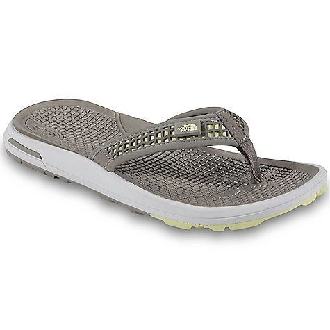 Surf Free Shipping. The North Face Women's Bolinas Thong Sandal DECENT FEATURES of The North Face Women's Bolinas Thong Sandal Upper: Water-friendly, synthetic nubuck straps with soft jersey lining Three points of hookand- loop adjustment at forefoot, instep and heel for a secure, personalized fit Anatomically shaped, compression-molded EVA footbed for supreme comfort Bottom: Compression-molded EVA midsole Durable, 40% recycled rubber outsole The SPECS Last: L-TNF-S1 Approx Weight: 1/2 pair: 5.5 oz / 153 g, pair: 11 oz / 306 g This product can only be shipped within the United States. Please don't hate us. - $49.95