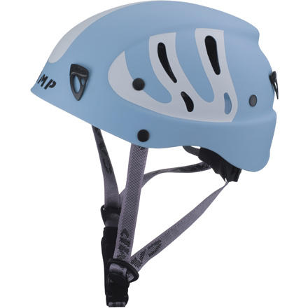 Camp and Hike The CAMP Armour Junior Climbing Helmet protects your kid's head with a tough thermoplastic shell while the easily adjustable suspension system ensures a great fit. If you're starting your little grom on the rock, then you want to make sure his head is both protected and comfortable. - $40.53