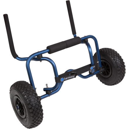 Kayak and Canoe Take the fight out of transporting your sit-on-top kayak to and from the water with the Harmony Sit-On-Top Cart. This cart's design works with any sit-on-top, and the All-Terrain tires have a tough tread that performs on or off the beaten track. - $67.96