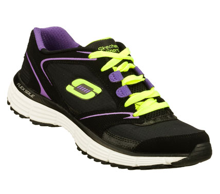 Fitness Take your workout to the next level with the SKECHERS Agility - Rewind shoe.  Smooth nubuck leather and ripstop fabric upper in a lace up athletic training sneaker with stitching and overlay accents. - $48.00