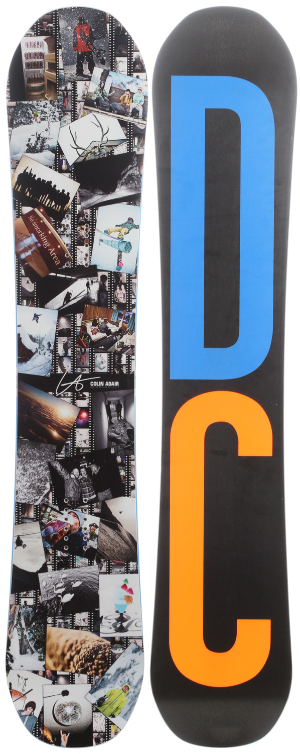 "Snowboard ""This board be rocksteady! feel good and ride well knowing you're on a dependable and consistent board. "" - aaron biittnerKey Features of the DC Ply Snowboard: Flex: 6 Maneuverability: 7 Camber: 5 Lock & Load Camber Stratus Core: Poplar, Pop=6, Light feel FlexaliteTip Radius 2 Flat: after receiving rave reviews and awards Radius to Flat has earned its spot on every board in our line. the flat surfaces at the tip and tail of the board provide lift in powder to keep you floating in the deepest snow, while the radius blends in perfectly with the sidecut to create effortless transitions from edge to edge. True Base 64.20 Biax Structurn Base: the structurn base structure is scientifically proven to be a faster base in all conditions. Just like the dimples of a golf ball break tension and make it fly farther, these small dimples in our base break water tension and allow your board to glide faster, turn easier and allow you to ride longer. Length (cm): 147.25, 150.5, 153.75, 156.5, 159.25 Contact Length (cm): 109 (147.25), 112 (150.5), 114 (153.75), 116 (156.5), 118 (159.25) Tip/Tail Width (cm): 29 (147.25), 29.2 (150.5), 29.4 (153.75), 29.6 (156.5), 29.8 (159.25) Waist Width (cm): 24.6 (147.25), 24.8 (150.5), 25 (153.75), 25.2 (156.5), 25.4 (159.25) Sidecut (m): 6.3 (147.25), 6.6 (150.5), 6.9 (153.75), 7.2 (156.5), 7.5 (159.25) - $265.95"