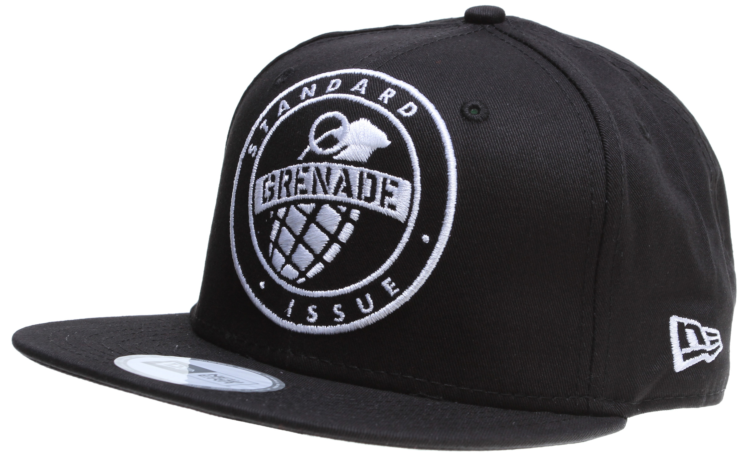 Key Features of the Grenade Emblem Cap: 100% Cotton NEW ERA SNAP BACK Embroidered Logo - $18.95