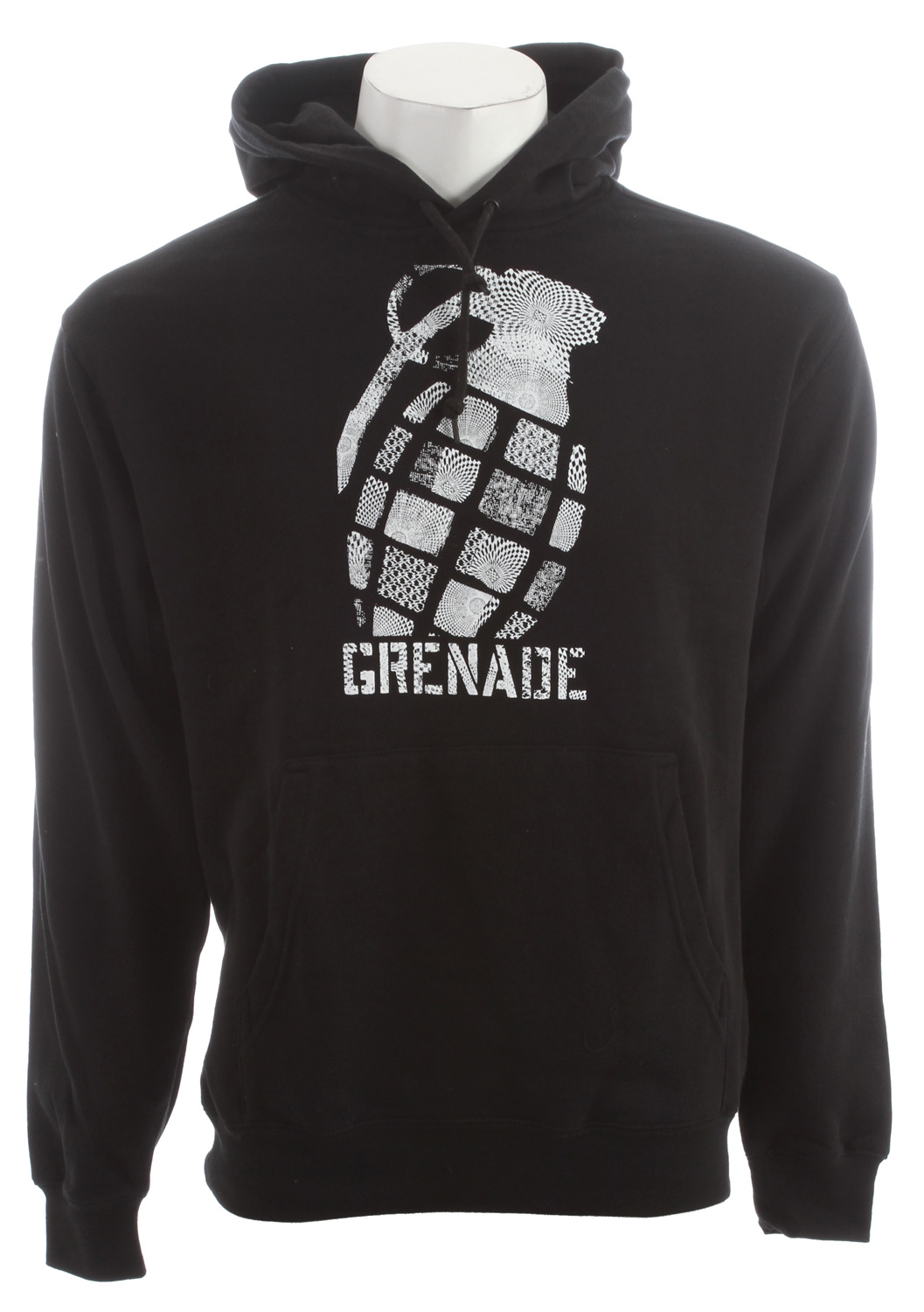 The Grenade Geo Tilt Hoodie is a stylish, smart and strong piece of clothing which will cause a scene wherever you go. Made with blended fleece, and packed with middleweight insulation for a range of environments, the Grenade Geo Tilt Hoodie can keep you warm and fashionable wherever you go. With a hood and pullover design, the hoodie is easy to put on and off and its regular fit should adapt to any consumer looking for an aggressive yet intriguing new look. While not resistant to water, this hoodie is still desirable to all consumers.Key Features of the Grenade Geo Tilt Hoodie:  80/20 Blended fleece  Screen print graphic  Kangaroo pocket  Classic pull over fit - $34.95