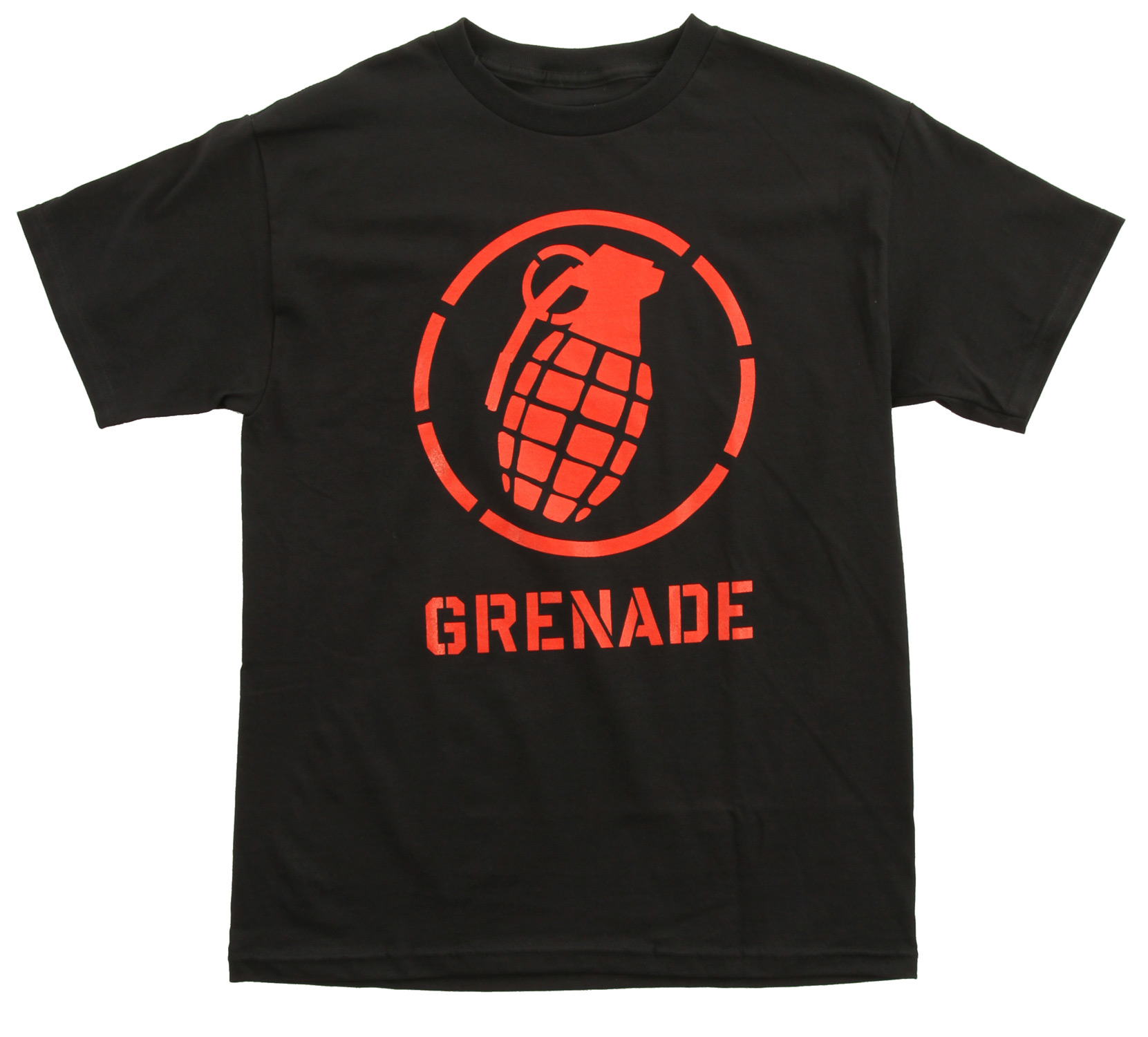 Grenade Wordmark Stenz T-Shirt - $11.95