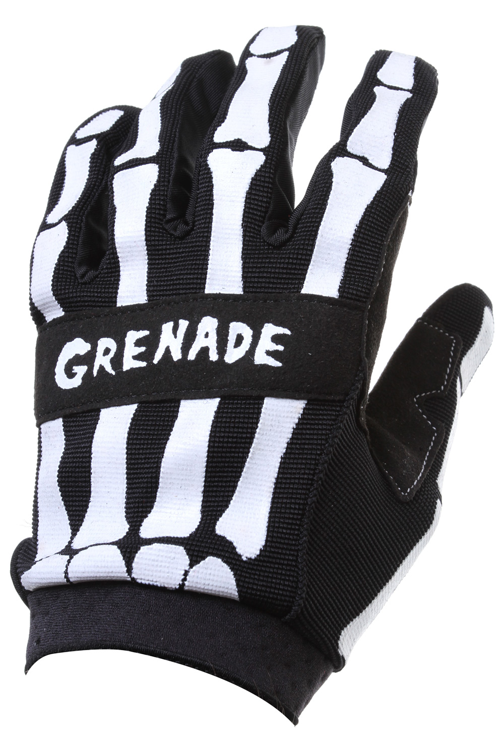 Fitness Grenade Skeleshred BMX Gloves Black - $16.95