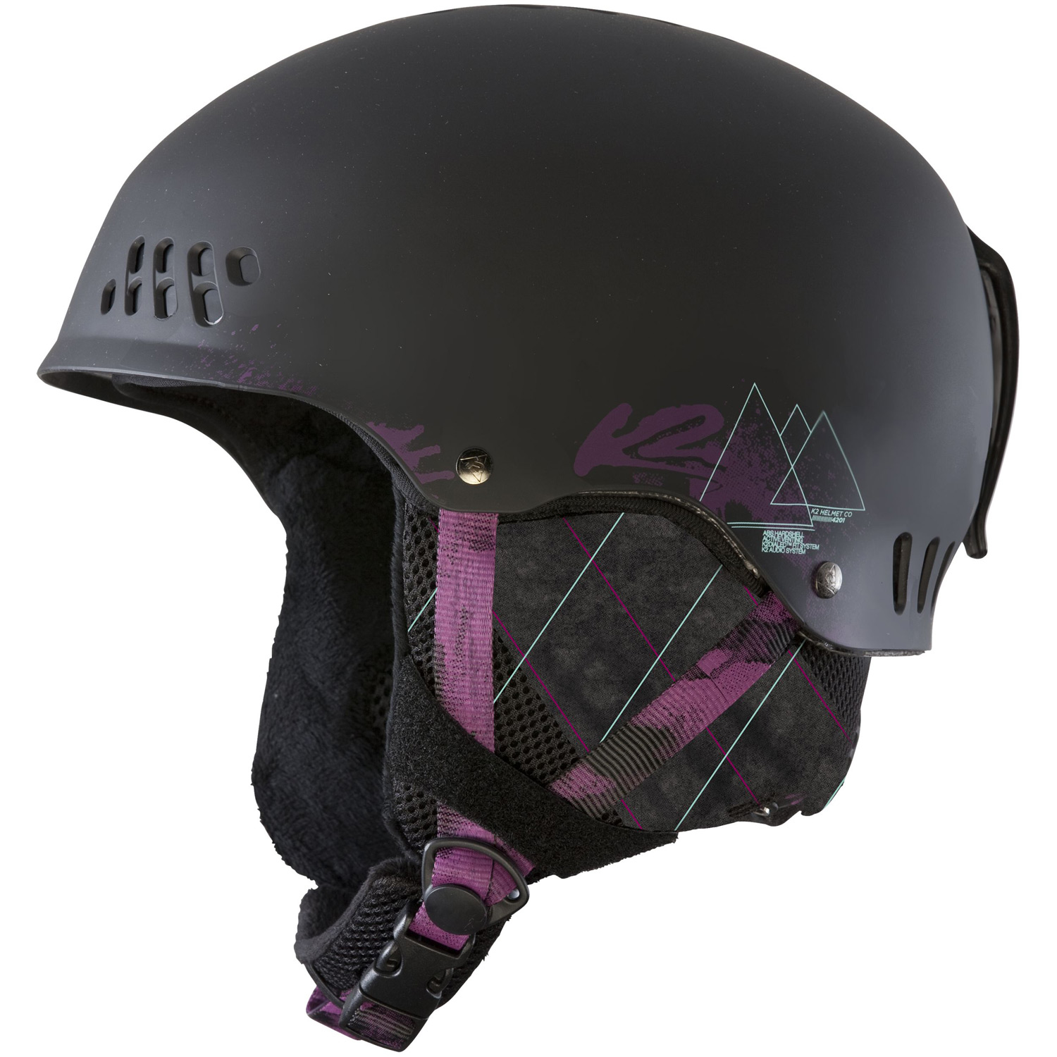 Ski This clean Hard-Shell design gives you all the comfort and durability you need with the style that you demand. Keep a cool head on and off the slopes by opening or closing the vents with the flip of a switch.Key Features of the K2 Emphasis Ski Helmet: Weight: 490g Helmet Construction: Hardshell Active Matrix Ventilation K2dailed Fit System washable Full-Wrap Liner System Tool free removable goggle strap Level 2 Baseline Audio System removable bandana - $74.95