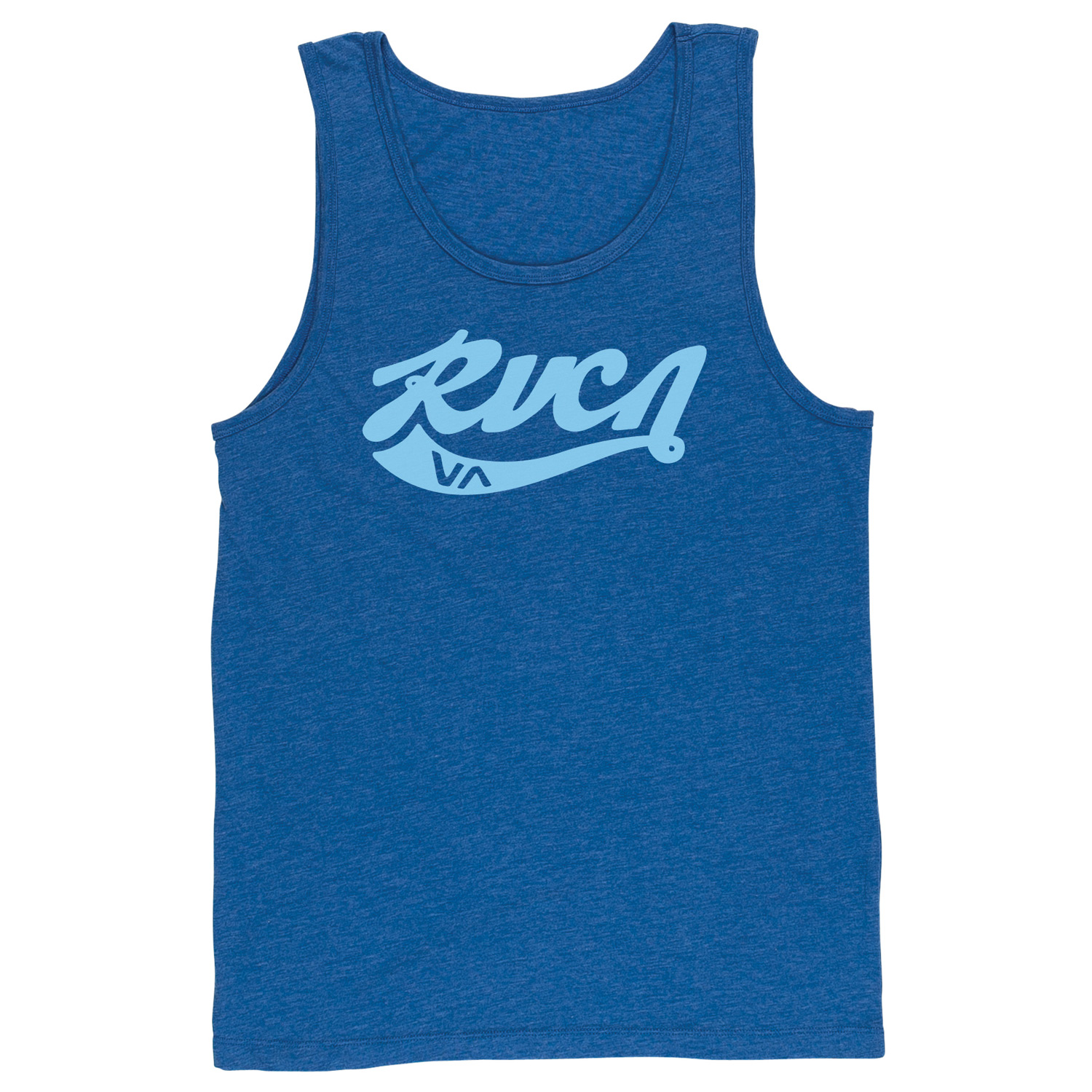 Surf Key Features of the RVCA Crola Tank: 55% Polyester/45% Cotton Vintage Dye Slim Fit tank with front print and screened inside neck - $26.00