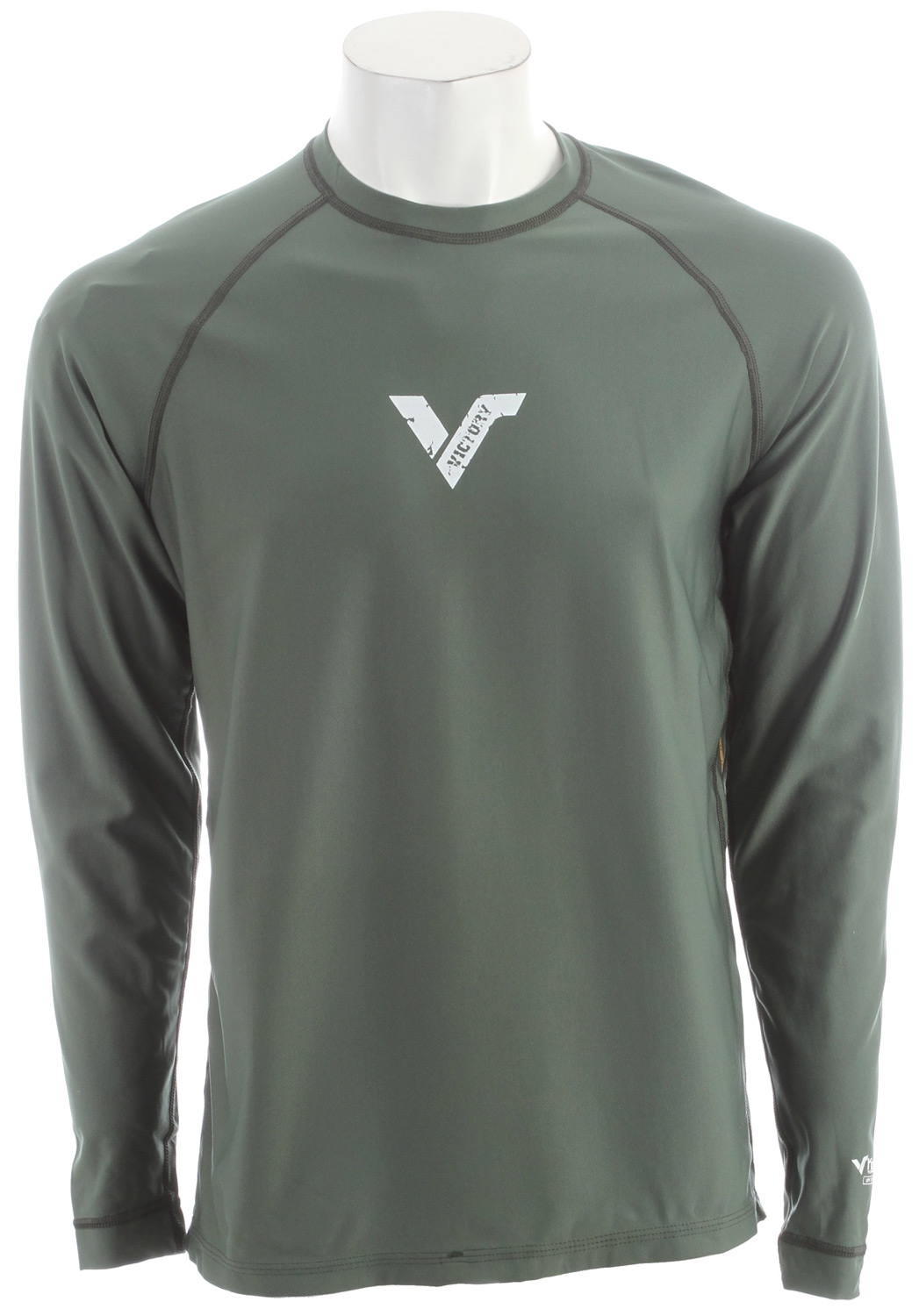 A long sleeve, light-weight shirt made from loosefit Koredry material, so it fits like a regular shirt but still has the water-repellant, quick-drying properties of Koredry. As a loosefit shirt it won't get baggy or soggy when wet, keeping you comfortable in and out of the water. The shirts feature raglan sleeves and flatlock stitching for added comfort and flexibility. Victory Koredry is UPF 50+ (equal to SPF 150+) giving you great protection against the sun and great insulation so you can stay out longer.Key Features of the Victory Koredry Loose Fit L/S Rash Guard: They feature flatlock stitching Raglan cut sleeves for superior fit and movement Triple needle cover stitch hems. - $32.95