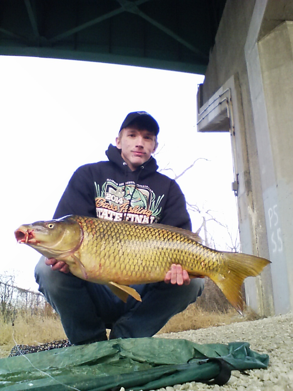 Fw winter carp fishing in the chicagoland area is still for Fishing in chicago