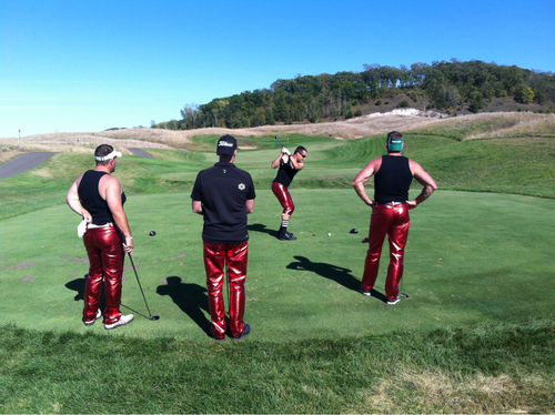 Golf fancy pants