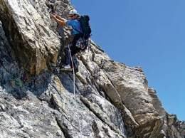 Climbing Direct South Ridge, Nez Perce