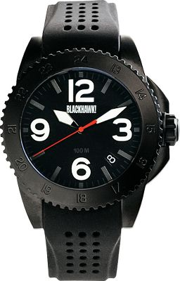 Entertainment Built by Blackhawk!, the Advanced Field Operator Watch has a case made of corrosion-resistant 316L stainless steel. With the finest Miyota quartz movements and an electrochemically bonded PVD finish, this watch is accurate and reliable. Anti-glare and scratch-resistant sapphire crystal. The screw-down crowns protect from moisture and other elements. A billet screw-off case back offers ease of battery change. Standard lug design for easy strap replacement. Waterproof to 100 meters. Three-year battery life.Case diameter:46mm. - $199.99