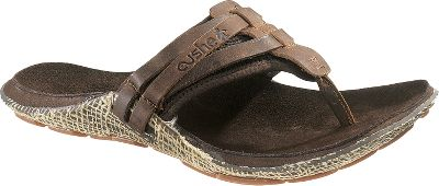 Surf A cool look to traditional slippers, the Manuka Wrap sandals by Cushe add a sense of refinement to taking it easy. Soft full-grain leather with breathable mesh keeps feet comfortably cool. Soft suede-covered EVA midsoles provide ample support, while the foot-shaped rubber soles with manuka honeycomb tread make every step a confident one. Imported.Mens whole sizes: 7-13 medium width.Color: Brown. Type: Flip Flops. Size: 7. Shoe Width: BROWN. Color: Medium. Size 7. Color Brown. Width Medium. - $64.99