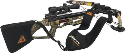Hunting Lightweight, hands-free sling provides easy transportation of your crossbow in the field. Versatile design fits most crossbows, and uses comfortable neoprene straps to evenly distribute weight across both shoulders. Quick-disconnect feature lets you load or shoot in seconds. Crossbow not included. Imported. Color: Black. Color: Black. Type: Crossbow Slings. - $14.88