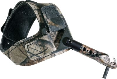 Hunting Its single-sear design has a heavier trigger, enabling you to release with back tension for a cleaner break and more accurate shot. Adjustable nylon strap provides a perfect fit. String-loop jaw for fast loading. Buckle strap secures release in the same position every time. Imported. For use left and right hand. Scott Archery Cant Beat It Guarantee. Made in USA. Color: Camo. Type: Wrist-Strap Releases. - $110.99