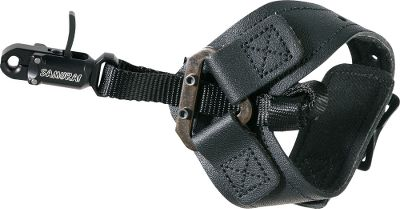 Hunting The patented nylon strap connector reduces torque and allows precise length adjustment, providing a custom fit for any shooter. One-piece, curved trigger designed for smooth, consistent releases. Buckle-closure wrist strap fits snugly in place. Scott Archery Cant Beat It Guarantee. For use left- and right-handed. Made in USA. Color: Black. Type: Wrist-Strap Releases. - $61.99