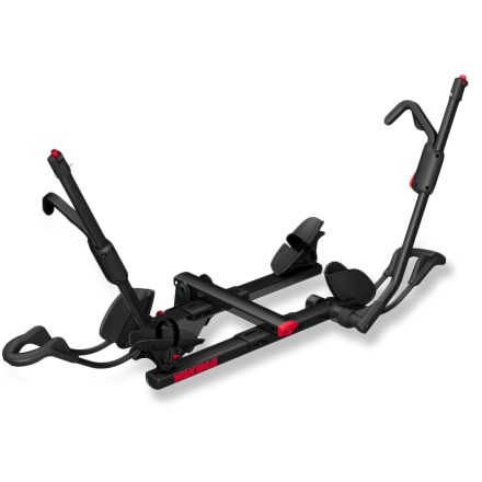 Camp and Hike Make sure your bike ride is more challenging than your rack. Choose the Yakima HoldUp 2-Bike Hitch Rack with its low load height, easy-to-use ratcheting arms, tilt-down design and integrated locks. - $449.00