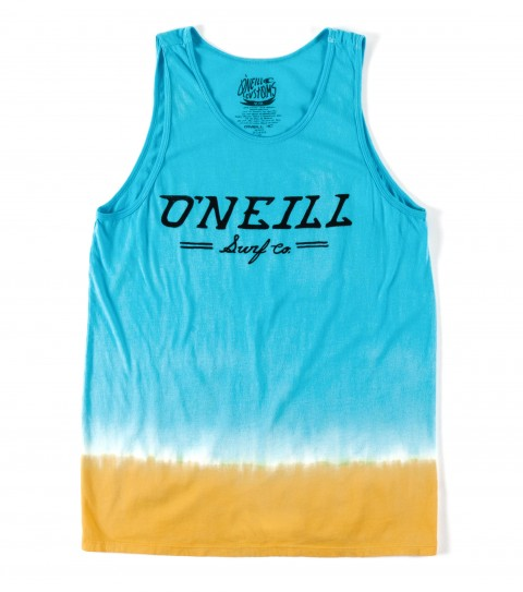 Surf O'Neill Lucadia Tank.  100% Cotton.  30 singles modern fit tank with dip dye; softhand screenprint with attached woven label. - $20.99