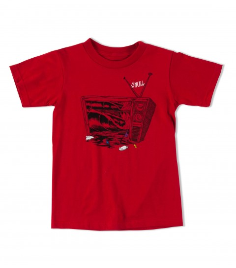 Surf O'Neill Brainwash Tee.  100% Cotton.  20 singles classic fit tee with softhand screenprint. - $9.99