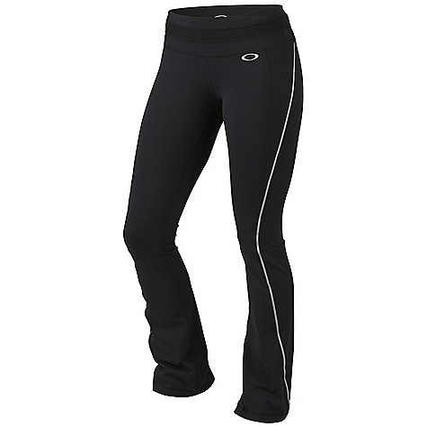 Free Shipping. Oakley Women's High Reps Pant DECENT FEATURES of the Oakley Women's High Reps Pant O-Form fabric with 4-way stretch lets you move without restrictions O Hydrolix fabric manages moisture so you stay comfortable Reflective trim stands out in low light Anti-bacterial action minimizes the effects of odor-causing microbes UV+ 50 fabric shields you against the sun Reflective logo at front hip 90% Supplex Nylon, 10% Lycra - $82.00