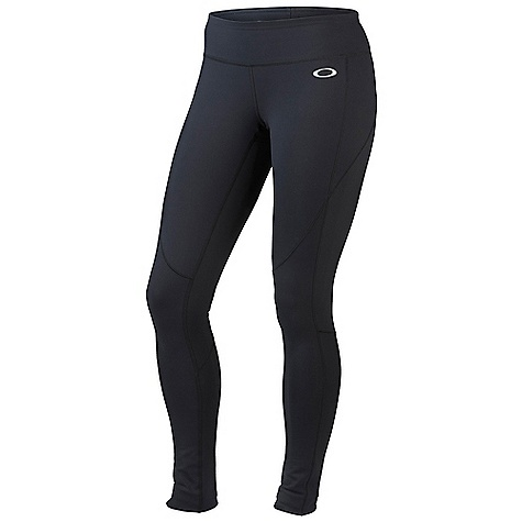Free Shipping. Oakley Women's Power Tight DECENT FEATURES of the Oakley Women's Power Tight O Hydrolix fabric technology keeps moisture to a minimum O-Form fabric stretches for excellent range of motion and shape retention UV+ 50 fabric shields your skin against the sun Anti-bacterial action keeps odor-causing microbes to a minimum Reflective panels increase your visibility in low light Reflective logo at front hip and back leg 90% Supplex Nylon, 10% Lycra - $78.00