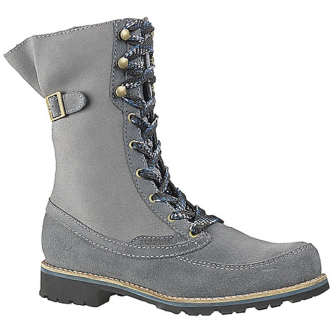 Free Shipping. Patagonia Women's Tin Shed Buckle Boot DECENT FEATURES of the Patagonia Women's Tin Shed Buckle Boot Waterproof suede leather for durability and protection Pigskin collar lining for comfort 70% recycled polyurethane footbed with pigskin lining for support and comfort Internal EVA padding in weight-bearing areas of welt gasket for comfort and superior flexibility PU comfort chamber provides comfort and support on hard surfaces and natural thermal protection in cold climates 3mm nylon 6.6 injection molded arch shank provides support under the arch and a natural flex at the ball of the foot Vibram sole with TC4+ rubber and 4mm lugs designed for grip and durability on slick and varied surfaces Construction: Board Lasted designed to resole locally Shaft Height: 23 cm (top of heel to top of boot) Heel height: 3 cm (Italian way: heel axis, about middle of heel at top, to bottom of sole) Last characteristics: medium width, medium toe box, medium arch/instep The SPECS Weight: 1/2 pair: 20.2 oz Better Leather Medium Support/flex Vibram Resole - $199.95