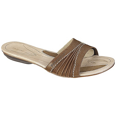 Surf Free Shipping. Patagonia Women's Bandha Scuff Sandal DECENT FEATURES of the Patagonia Women's Bandha Scuff Sandal Full grain leather upper with medial gore for flexibility and comfort Glove-like pigskin lining provides luxurious feel and comfort Latex foam footbed for superior comfort and support Patagonia Air Cushion technology in heel for comfort 2mm steel shank provides underfoot stability and proper flex in forefoot Recycled synthetic leather sole with 20% recycled rubber heel and forefoot pads for added traction cushioning and durability Construction: Cement Last characteristics: medium width, toe box and arch support The SPECS Weight: 1/2 pair: 5.3 oz Better Leather Medium Support/flex Recycled Rubber - $99.95