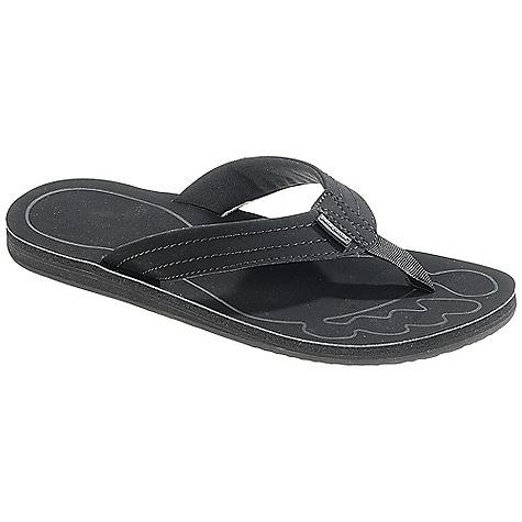 Surf Free Shipping. Patagonia Women's Upflip Sandal DECENT FEATURES of the Patagonia Women's Upflip Sandal Supportive 3-point synthetic leather thong construction with recycled nylon toe post for comfort Jersey polyester mesh lining for durability and comfort Super soft high density Plusfoam footbed for long-term cushioned comfort and durability Closed cell construction resists moisture and bacteria build-up Durable high density Plusfoam outsole provides excellent traction on wet/dry surfaces Footbed and sole are 100% recyclable through Plusfoam.com Soft Flex Last Characteristics: Medium width, Medium arch/instep The SPECS Weight: 1/2 pair: 5.1 oz Vegan friendly Soft support/flex Plus Compounds and Plusfoam - $59.95
