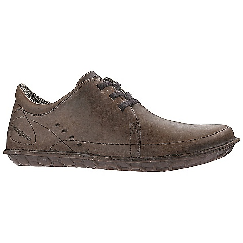Free Shipping. Patagonia Footwear Men's Loulu Shoe DECENT FEATURES of the Patagonia Men's Loulu Shoe Durable full grain leather upper Natural wool linings provide temperature and moisture control 20% recycled EVA midsole provides cushioning and comfort Big Honeycomb 70% natural hevea latex outsole Opanka stitched outsole construction provides durability while minimizing the use of solvents and adhesives Last characteristics: medium width, full toe box, medium arch/instep The SPECS Weight: 9 oz (1/2 pair size 9) Better leather Soft Support /flex Hevea Natural Latex Resole - $139.95