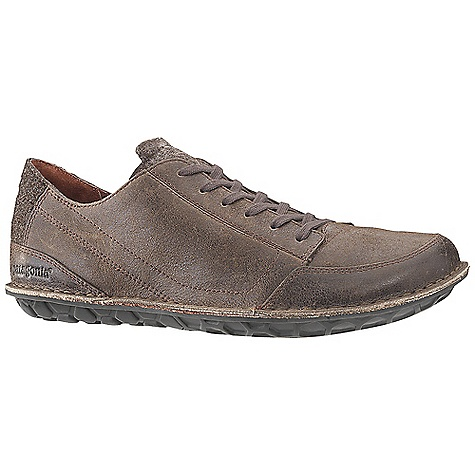 Free Shipping. Patagonia Footwear Men's Banyan Lace Shoe DECENT FEATURES of the Patagonia Men's Banyan Lace Shoe Durable full grain leather upper with fabric collar Mesh lining for breathability 20% Recycled EVA midsole provides cushioning and comfort Big Honeycomb 70% natural hevea latex outsole Opanka stitched outsole construction provides durability while minimizing the use of solvents and adhesives Last Characteristics: Medium width, Full toe box, Medium arch/instep The SPECS Weight: 1/2 pair: 11.1 oz Better Leather Soft support/flex Hevea Natural Latex Resole - $139.95
