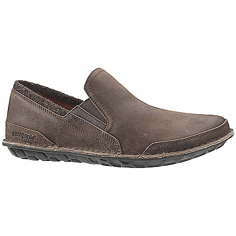 Free Shipping. Patagonia Footwear Men's Banyan Moc DECENT FEATURES of the Patagonia Men's Banyan Moc Durable full grain leather upper with fabric collar Mesh lining for breathability 20% Recycled EVA midsole provides cushioning and comfort Big Honeycomb 70% natural hevea latex outsole Opanka stitched outsole construction provides durability while minimizing the use of solvents and adhesives Last Characteristics: Medium width, Full toe box, Medium arch/instep The SPECS Weight: 1/2 pair: 10.6 oz Better Leather Soft support/flex Hevea Natural Latex Resole - $139.95