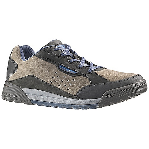 Free Shipping. Patagonia Footwear Men's Boaris 2.0 Shoe DECENT FEATURES of the Patagonia Men's Boaris 2.0 Shoe Pigskin, tumbled oiled nubuck and Tec Tuff leather upper for durability and protection Durable polyester laces Breathable mesh lining wicks moisture and controls odor 2.5mm nylon 6.6 injection molded arch shank provides support under the arch and a natural flex at the ball of the foot Recycled insole and midsole provides support and protection Patagonia Air Cushion Plus provides shock absorption Low profile Vibram outsole with self cleaning lug provides ultimate traction Stitched outsole construction provides durability while minimizing the use of solvents and adhesives Construction: Strobel Last characteristics: Medium width, full toe box, medium arch/instep The SPECS Weight: 1/2 pair: 14.9 oz Better leather Medium Support/flex Vibram - $109.95