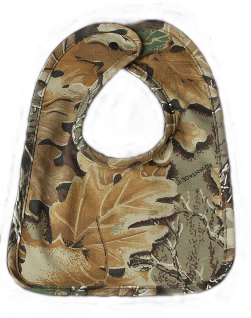 Hunting CAMOUFLAGE BABY INFANT BIB