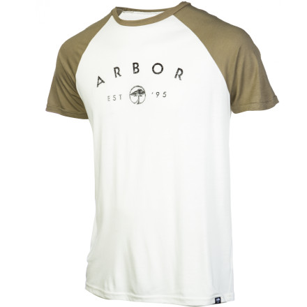 The Arbor Durham 3/4 Sleeve T-shirt will never break up with you. It will never tell you that you did a crap job. - $35.95