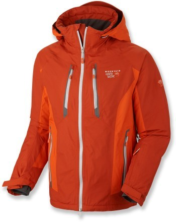 Snowboard Mountain Hardwear Vertical Peak Insulated Jacket   $400