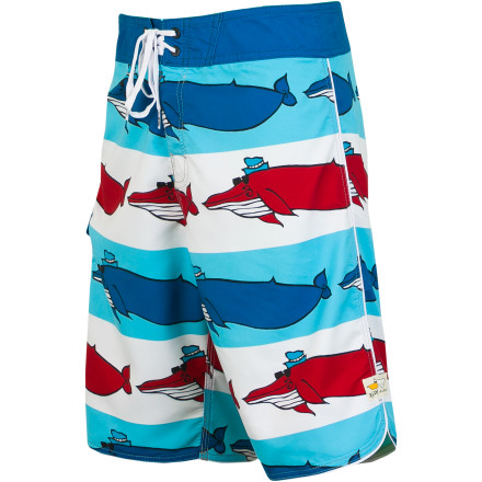 Fitness Your little boy will love showing up to swim lessons in the colorful Billabong Andy Davis Migration Toddler Boys' Board Short. The exciting print designed by Andy Davis will make him feel like the star of the pool, and the stretchy fabric allows plenty of freedom of movement for him to doggy paddle his heart out. - $49.45