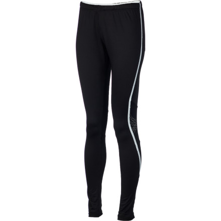 Fitness Stay warm and run through cold weather while wearing the Craft Women's PR Thermal Tight. Performance fabric, a close-fitting shape, and articulated cut make this tight ideal for trail running or road running from early spring through later fall.Flexible, breathable C356 fabric moves with you, and this fabric helps manage your temperature so you feel comfortable when you're on the run Reflective detailing increases your visibility on the road or the trail Zips at the bottom of the legs keep drafts from sneaking in around your ankles and make this tight easy to pull on and take off - $26.99