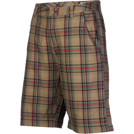 It's finally time for a well-deserved summer vacation, so relax in style in the Dakota Grizzly Wayne Men's Shorts. The light cotton fabric will keep you cool and comfy to help you chill out while you forget all about your morning commute and incompetent boss. - $51.95