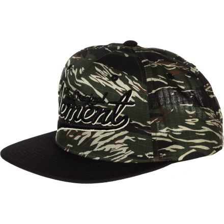 Skateboard Show off your own style in the Element Originals Snapback Hat. - $21.95