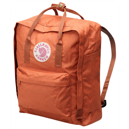 Originally designed for Swedish school children in 1978, the Fjallraven Kanken Backpack keeps your daily essentials securely stowed in classic Scandinavian style. The water-resistant Vinylon F fabric keeps books and notepads protected during light rain, and the removable seat pad gives you a plush place to sit your rear while you wait for the bus. - $74.95