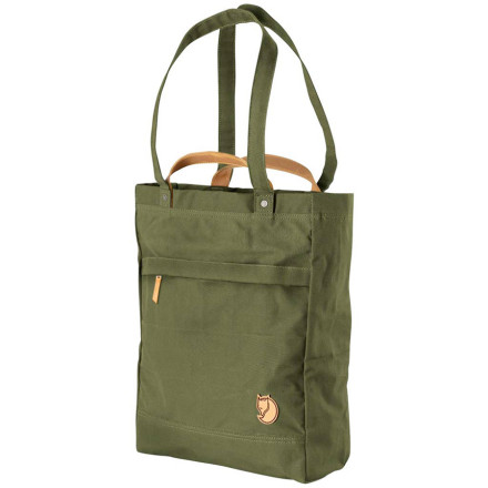 Entertainment Whether you're on your way to your next overseas adventure or about to have a picnic in the park, pack the Fjallraven Totepack No. 1 with your travel essentials or lunch must-haves. This super-durable bag features a double-layered bottom for longevity and a classy look for travel. - $109.95
