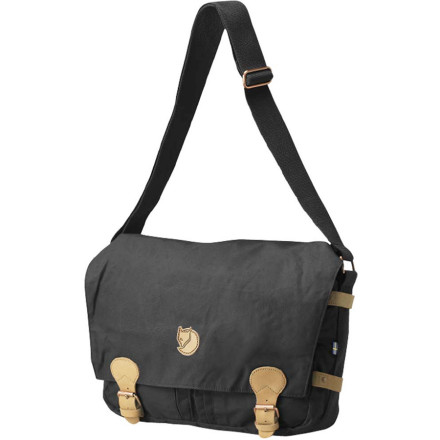 Entertainment With the Fjallraven Vintage Shoulder Bag comfortably slung over your shoulder, packed with your laptop, school supplies, and gym clothes, you head to campus for another busy day. This vintage-style bag features infused Greenland wax for eco-friendly protection against the elements in case your commute becomes a wet slog. - $99.95